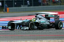 Formel 1 - Vorsprung ausgebaut: Mercedes nimmt Kurs auf Platz zwei