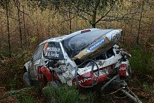 WRC - Video: Kubicas zweiter Crash in Wales