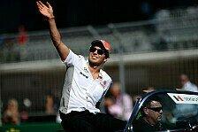 Formel 1 - Mehrere Optionen f�r Perez: Perez bleibt zu 95 Prozent in der F1