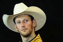 Formel 1 - Sein bestes Rennen?: Lob f�r Grosjean nach P2 in Austin