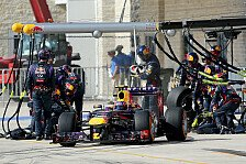 Formel 1 - Red Bull mit neuem Boxenstopp-Rekord: US GP: Die Boxenstopp-Analyse