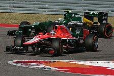 Formel 1 - Caterham: Platz 11 kein Beinbruch
