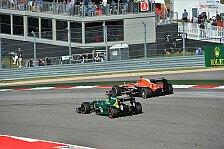 Formel 1 - Hoffen auf Spa-Bedingungen: Caterham Vorschau: Brasilien GP