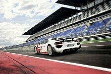 Auto - Finale Abstimmung f�r Hybrid-Supersportler: Porsche 918 Spyder unterbietet eigene Bestwerte
