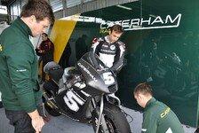 Moto2 - Zarco und Herrin pilotieren Moto2-Bike: Caterham testet in Almeria