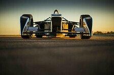 Mehr Motorsport - Video: Formel-E-Renner absolviert Testdeb�t