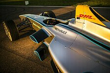 Formel E - Testdeb�t des Spark-Renault SRT_01E