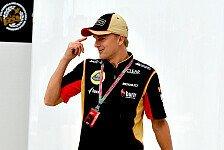 Formel 1 - Hoffentlich denkt er daran, mich zu loben: Kovalainen: Kein Streit mit Briatore