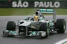 Formel 1 - Komplett ratloser Weltmeister: Hamilton: Noch nie im Regen so schlecht gewesen