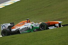 Formel 1 - Van der Garde vs. Perez - oder doch di Resta?: Force India: Cockpit-Bekanntgabe noch heute?
