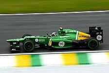 Formel 1 - Es k�nnte interessant werden: Van der Garde: Caterham sehr gut im Nassen