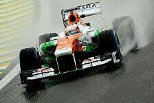 Formel 1 - Zu viel Wheelspin am Start: Di Resta: Strategiewechsel nach schlechtem Start