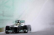 Formel 1 - Den Blick gen Himmel gerichtet: Der Regen als st�ndiger Begleiter