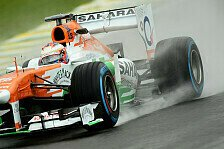 Formel 1 - Konstrukteurs-WM hat Priorit�t : Di Resta visiert in Brasilien Punkte an