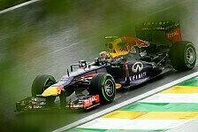 Formel 1 - Keine Aussagekraft: 3. Training: Regen bremst Teams aus
