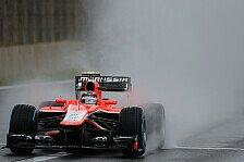 Formel 1 - Geldstrafe f�r Marussia: Verwarnungen f�r Chilton und Gutierrez