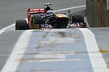 Formel 1 - Immer Probleme mit den Intermediates gehabt: Daniel Ricciardo