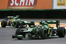 Formel 1 - Der gro�e Verlierer der Saison: Van der Garde: Zwischenzeitlich auf P14