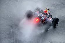 Formel 1 - Warten bis Freitag: Regentest in Jerez