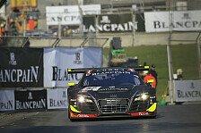 Blancpain GT Serien - WRT fixiert Gewinn der Teamwertung: Qualirennen: Rast und Mayr-Melnhof ertrotzen Sieg