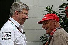 Formel 1 - Brawn fehlt erst einmal: Lauda: Kompetenz-Vakuum verhindern