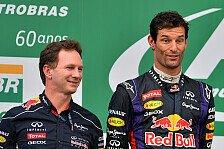 Formel 1 - Ohne Sebastian ein potentieller Weltmeister: Horner: Liebesaus bei Webber