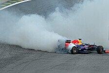 Formel 1 - Warme Worter f�r Webber: Vettel erkl�rt: Falscher Reifen beim Stopp