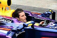 Formel 1 - Die pers�nliche Note: Webber: Ohne Helm war speziell