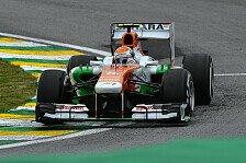 Formel 1 - Regen h�tte geholfen: Adrian Sutil: Ein paar Runden mehr...