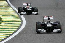 Formel 1 - Ein Spritzer Lack auf den gro�en Kratzer: Saisonbilanz 2013: Williams