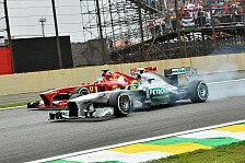 Formel 1 - Leistungsdefizit in den ersten Runden?: Hamilton: Bottas w�re nicht vorbeigekommen