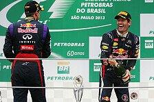 Formel 1 - Dominanz schadet dem Sport: Webber: Unaufrichtige Weihnachtskarten mit Vettel