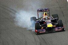 Formel 1 - Sorgenfalten wegen V6-Motoren: Vettel: F1-Autos m�ssen riechen und laut sein