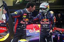 Formel 1 - Genau sein Fall: Webber: Vettel auch 2014 Favorit