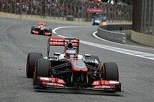 Formel 1 - Force India auff�llig schnell: Topspeeds in Brasilien: Mercedes-Power vorne