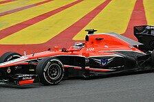 Formel 1 - Sorge bis zum Schluss: Marussia: WM-Platz 10 gro�e Belohnung