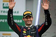 Formel 1 - Aussie sagt Servus: Video - Webber verabschiedet sich von den Fans