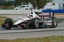 IndyCar - Video: Montoyas erste Testfahrten