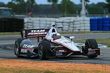 IndyCar - Ein paar Fehler : Montoya mit starkem Testauftakt