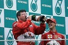Formel 1 - Bilderserie: Die Karriere von Ross Brawn
