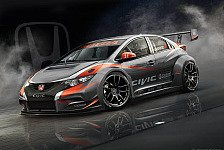 WTCC - Hohe Ziele: Honda pr�sentiert den neuen Civic