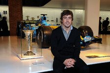 Formel 1 - Alonso er�ffnet Museum in Madrid