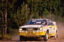 Rallye - Blomqvist feiert Jubiläum seines WM-Titels