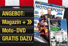MotoGP - SaigerTT DVD geschenkt: Angebot: Motorsport-Magazin & gratis DVD