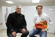 Formel 1 - Viele tappen im Dunkeln: Nico H�lkenberg: Spannung dank Fragezeichen
