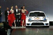 WRC - Feierliche Kr�nung: Weltmeister-Troph�en an Volkswagen �berreicht