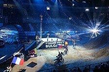 NIGHT of the JUMPs - Duell zwischen Rinaldo und Podmol: Showdown zur Kr�nung des Freestyle MX Weltmeisters