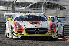 Mehr Sportwagen - Hektik beim letzten freien Fahren: Dubai-Warm-up: Zwei Benz-Boliden vorne