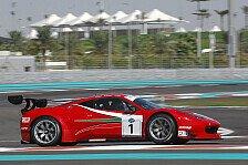 Mehr Sportwagen - Vilander und Kaffer am schnellsten: Auftakttraining in Dubai: Ferrari legt vor