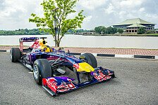 Formel 1 - Video: Red Bull-Showrun mitten durch Kuwait